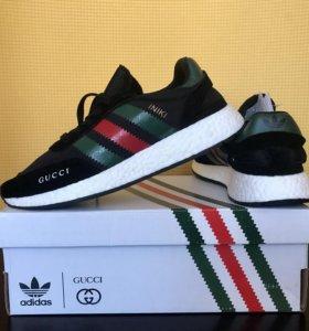 🔝Мужские кроссовки Adidas Iniki Runner x Gucci 🔥