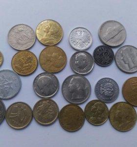 Иностранные монеты 20 века