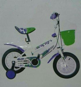 Новый в коробке велосипед