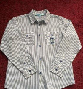 Рубашка для мальчика 9-11лет