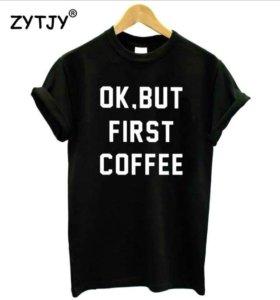 Новая футболка на девушку S