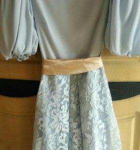Очень красивое и нежное платье.