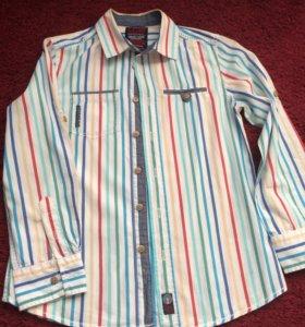 Рубашка для мальчика 8-11