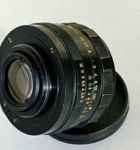 объектив Гелиос 44-м