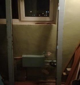Железная дверь неутепленная