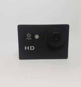 Экшн-камера. Снимает в HD