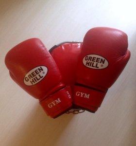 Боксерский набивной мешок BAX+перчатки GREEN HILL