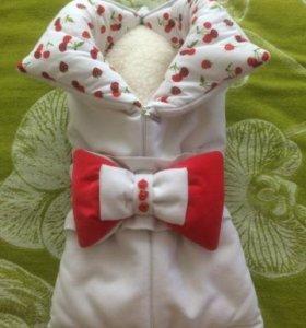 Конверт-одеяло для новорожденного (дизайнерский)