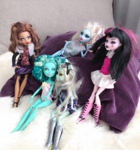 Куклы Monster High 1000 за каждую