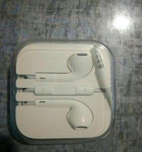 Гарнитура iPhone 6 Наушники apple EarPods 3.5