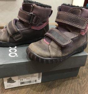 Ботинки Ecco 24 размер