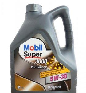 Mobil Super 3000 X1 FE 5W-30,3шт за 3300р