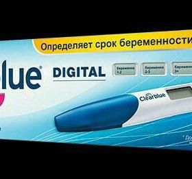 Цифровой (электронный) тест на беременность