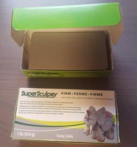Supersculpey firm - глина для лепки