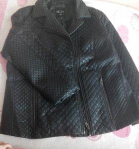 Куртка жен. экокожа 54-56