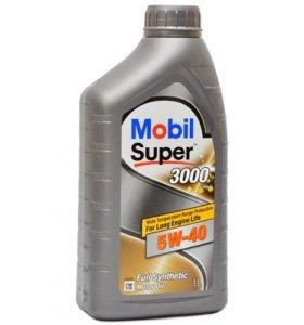 Масло Mobil Super 3000 5w-40 1 литр