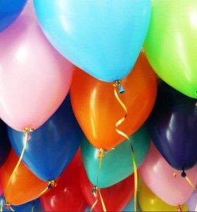Воздушные гелиевые шары шарики 🎈🎈🎈