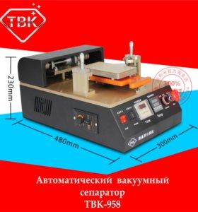 TBK-958 вакуумный сепаратор для дисплеев 7 дюймов