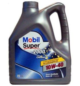 Масло Mobil Super 2000 10W40 diesel 4 литра
