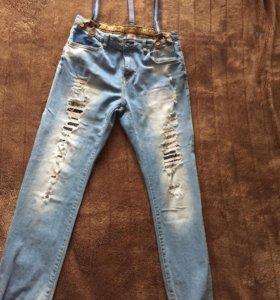 Новые джинсы на мальчика Зара