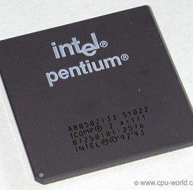 Intel Pentium 133Mhz A80502133 SY022