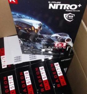 Sapphire nitro+ radeon RX 570 8G