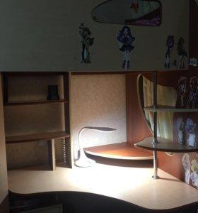 Детская кровать-чердак с матрасом