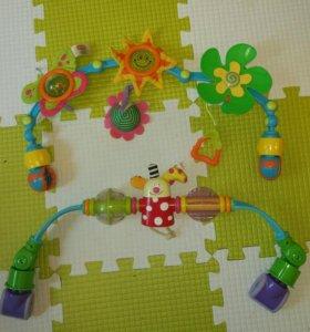 Дуга Солнечная Tiny love и дуга с клоуном Taf toys