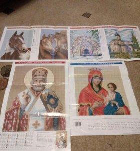 Схемы и журналы для вышивки