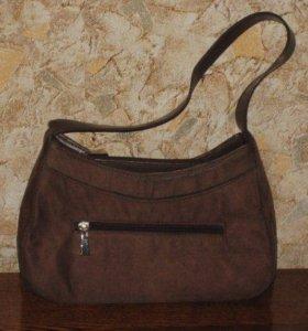 Винтажные замшевые сумочки