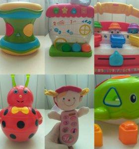 Музыкально-развивающие игрушки