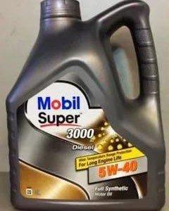 Mobil super 3000 5w40 diesel