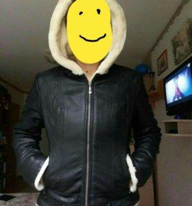 Куртка утеплённая. Зимняя. 46-48 р-р