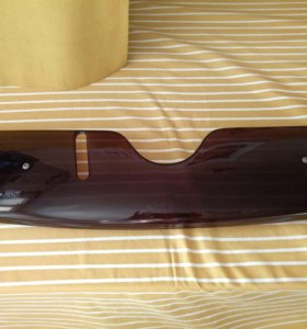 Зимняя заглушка решётки радиатора на Skoda octavia