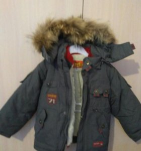 Новая!!!Куртка,зима,98.