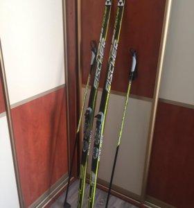 Лыжи беговые FISCHER RCS CARBON LITE (Junior)