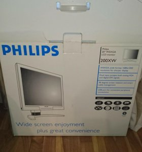 Новый в упаковке LCD Монитор Philips 200XW