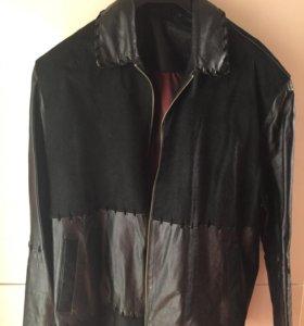 Куртка мужская из натуральной кожи .
