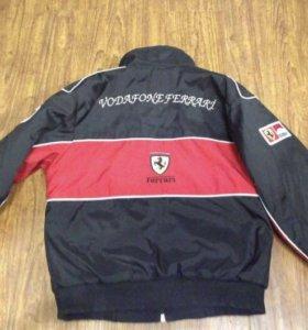 Куртка Ferrari + фирменная кепка в подарок