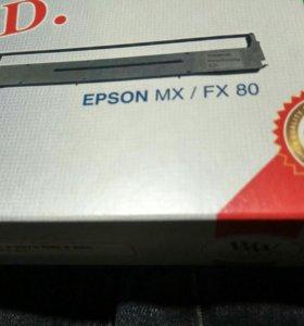 Картридж для матричных принтеров. Epson mx/fx 80