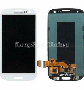 SAMSUNG I9300 Galaxy S III дисплей в сборе