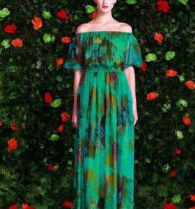 Платье Isabel Garcia зеленого цвета
