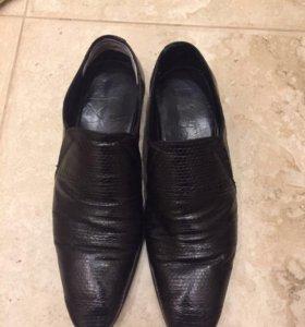 Ботинки/туфли из натуральной кожи