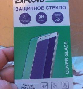 Чехол,защитное стекло iPhone 6 plus