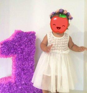 Платье 12-18мес.