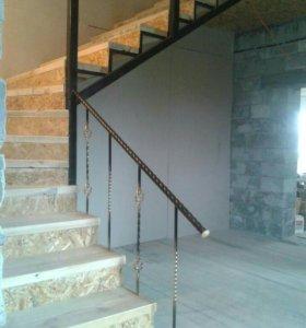 Лестницы, заборы, декор любые изделия из металла