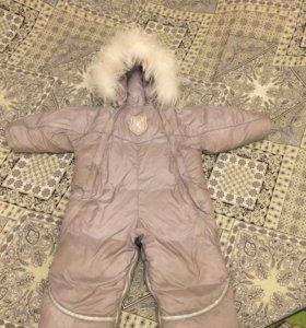 Зимний комбез трансформер Choupette