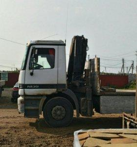 Манипулятор кран 5 тонн 10 метров борт 10 тонн 640