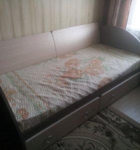 Кровать производства Радо-мебель