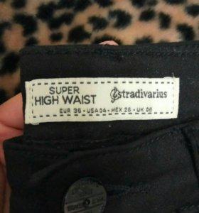 Джинсы джеггинсы штаны брюки stradivarius